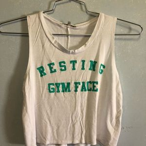 Charlotte Russe Crop Tank - Size XS